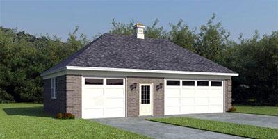 hip style garage remodeling